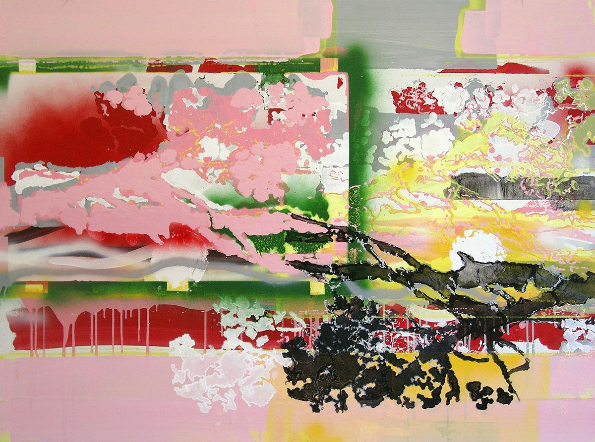 Michael Picke | Malerei | frühling am fuji