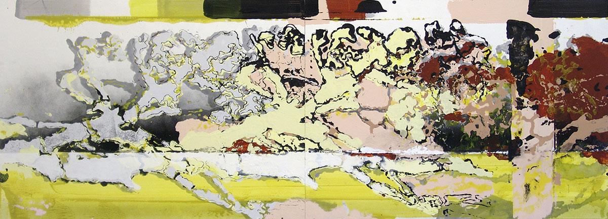 Michael Picke | Malerei | herbstfahrt stürmisch