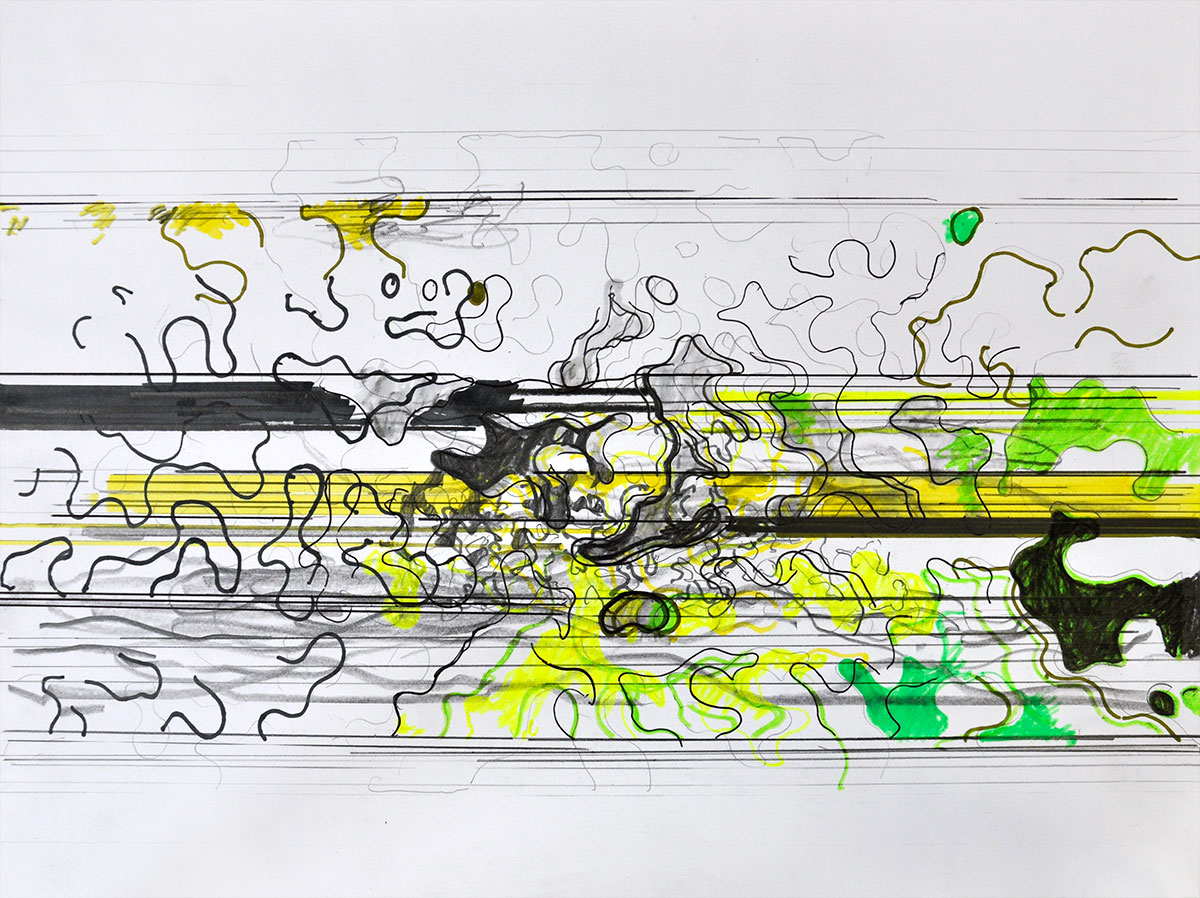Michael Picke | Drawing | blb passage 02