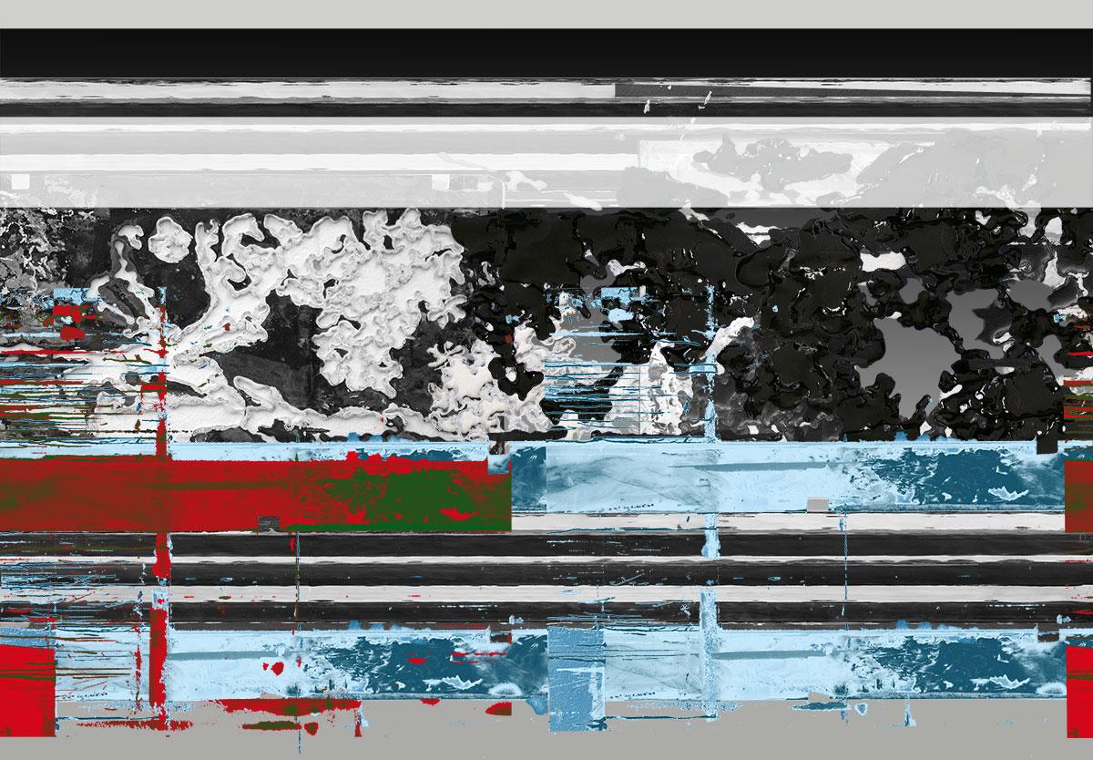 Michael Picke | Montages | blue lines