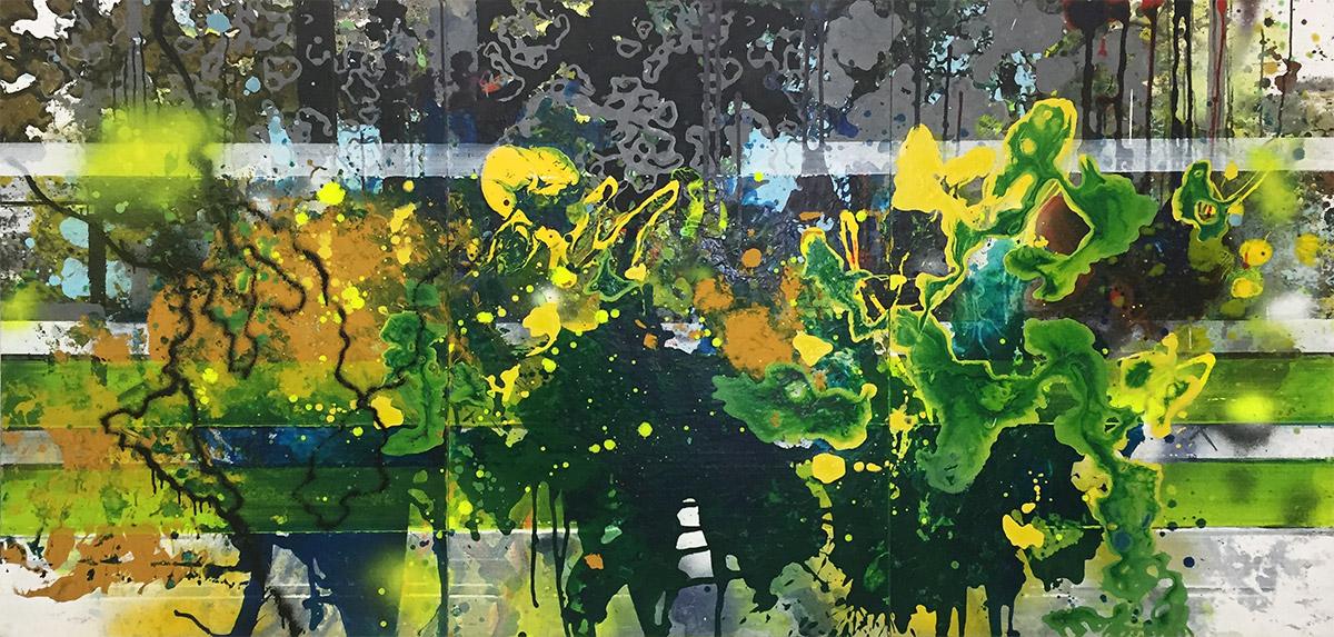 Michael Picke | Malerei | Klingsorzauberwald