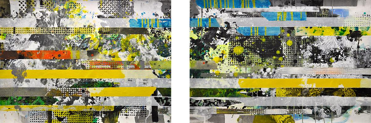 Michael Picke |Malerei | landpassage lunapark