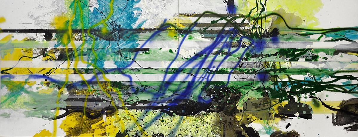 Michael Picke | Malerei | milchsee und karwendel-grat