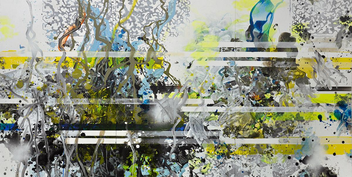 Michael Picke | Malerei | neuschnee am schwarzen teich