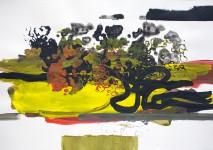 Michael Picke | Malerei | gelbe lichtung