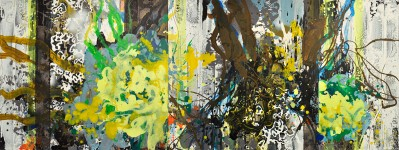 Michael Picke | Malerei | zitronenharz mit wespenstich
