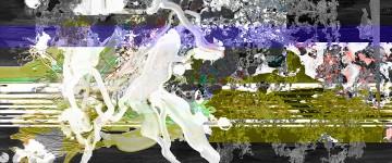 Michael Picke | Malerei | taubenweiss mit nachtkristallen