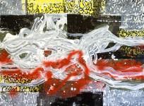 Michael Picke | Malerei | schwarzes wehr