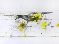 Michael Picke | Drawing | yellow lights