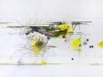 Michael Picke | Drawing | yellow lights
