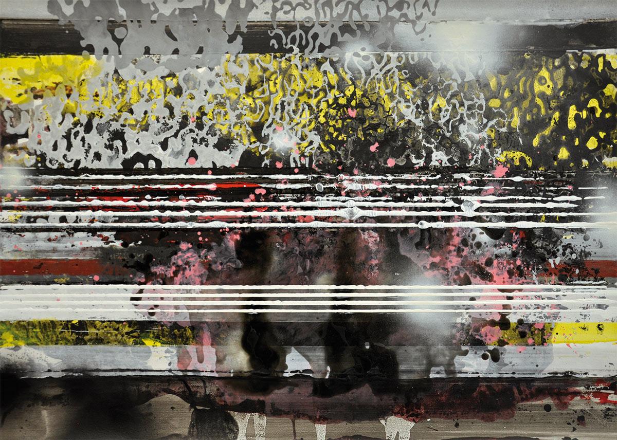 Michael Picke | Malerei | weisse streifen