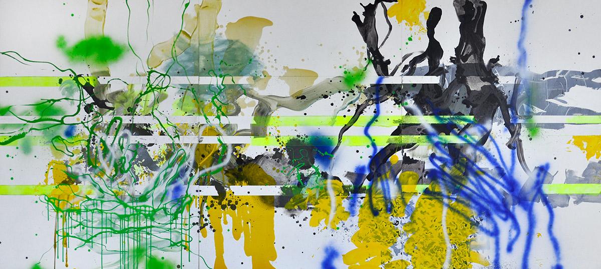 Michael Picke | Malerei | wellnesswipfel schwalbengarten